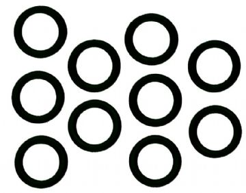 Blue Water Sports - 10 Nitrile O-Rings for Scuba Diving Cylinder Valves and Regulators